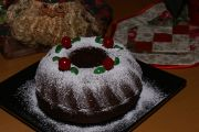 Bundt Cake de Nueces y Cerezas
