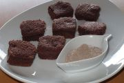 Brownie de Coquitos y harina Teff