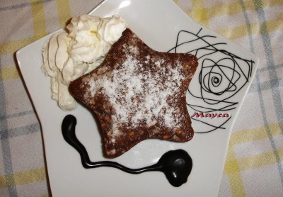 Brownies de Pepitas de Chocolate Blanco