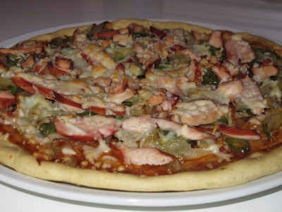 Pizza Pollo Barbacoa